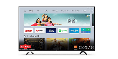 Mi TV 4A PRO 80 cm (32 inches) HD Ready Android LED TV. Best Smart TVs